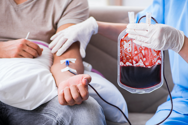 Blood transfusion - pathology example for medico legal information