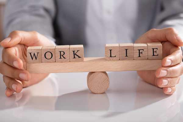 Work-life balance is a healthy choice to prevent burnout